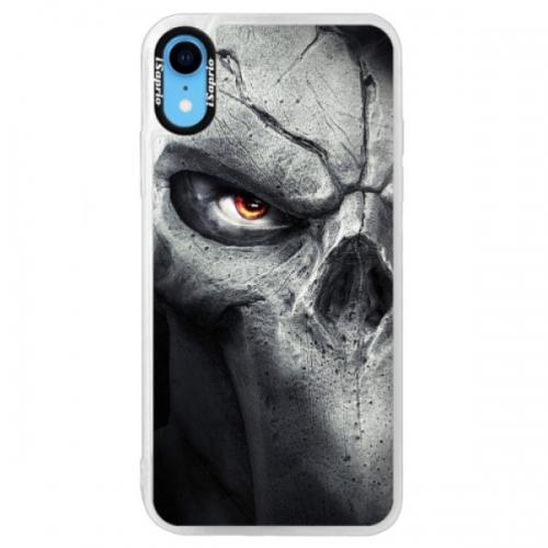 Neonové pouzdro Blue iSaprio - Horror - iPhone XR