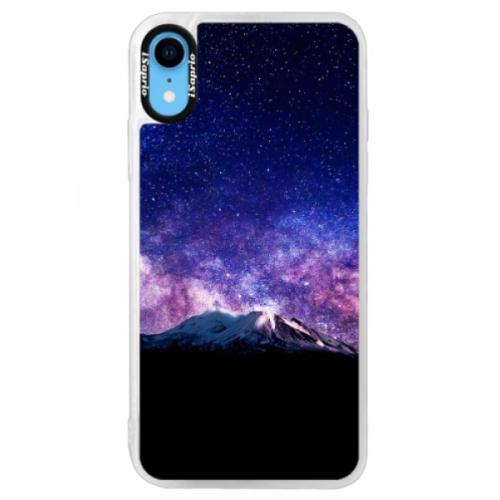 Neonové pouzdro Blue iSaprio - Milky Way - iPhone XR