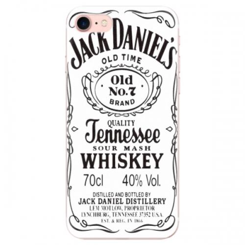 Odolné silikonové pouzdro iSaprio - Jack White - iPhone 7