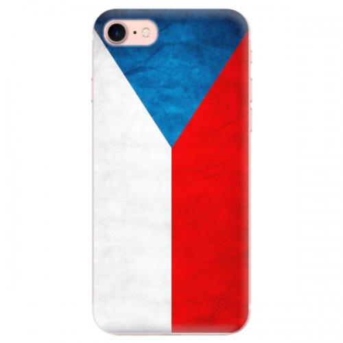 Odolné silikonové pouzdro iSaprio - Czech Flag - iPhone 7