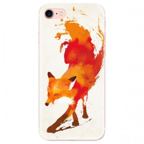 Odolné silikonové pouzdro iSaprio - Fast Fox - iPhone 7