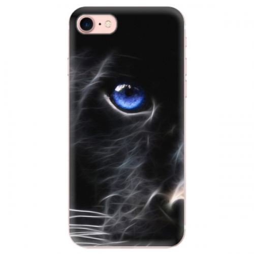Odolné silikonové pouzdro iSaprio - Black Puma - iPhone 7