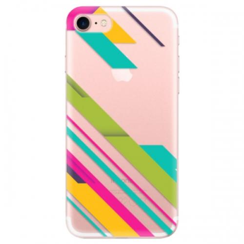 Odolné silikonové pouzdro iSaprio - Color Stripes 03 - iPhone 7