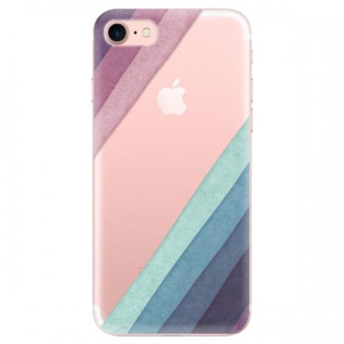 Odolné silikonové pouzdro iSaprio - Glitter Stripes 01 - iPhone 7