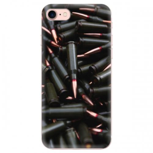 Odolné silikonové pouzdro iSaprio - Black Bullet - iPhone 7