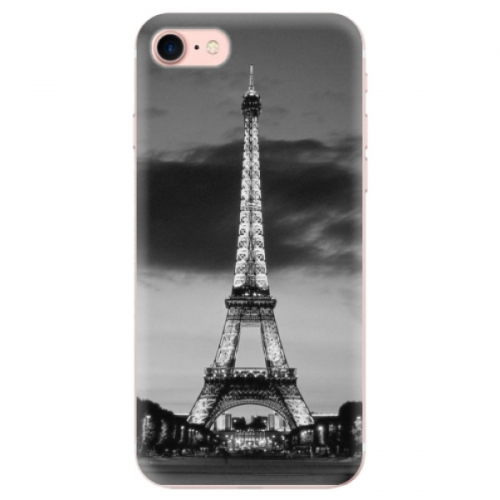 Odolné silikonové pouzdro iSaprio - Midnight in Paris - iPhone 7