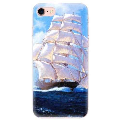 Odolné silikonové pouzdro iSaprio - Sailing Boat - iPhone 7