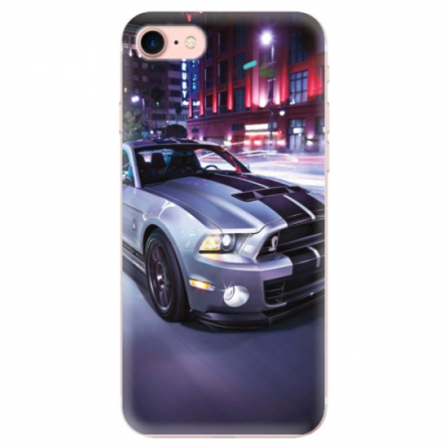 Odolné silikonové pouzdro iSaprio - Mustang - iPhone 7