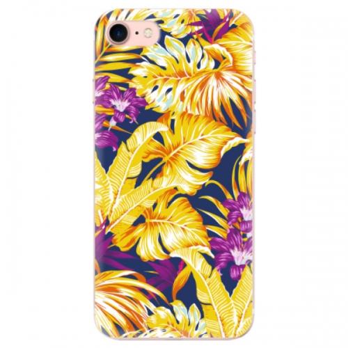 Odolné silikonové pouzdro iSaprio - Tropical Orange 04 - iPhone 7