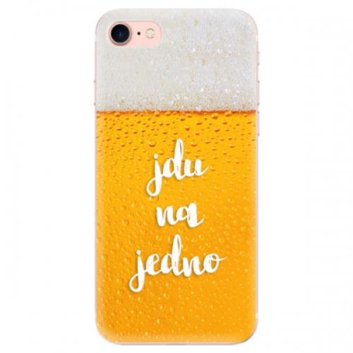 Odolné silikonové pouzdro iSaprio - Jdu na jedno - iPhone 7