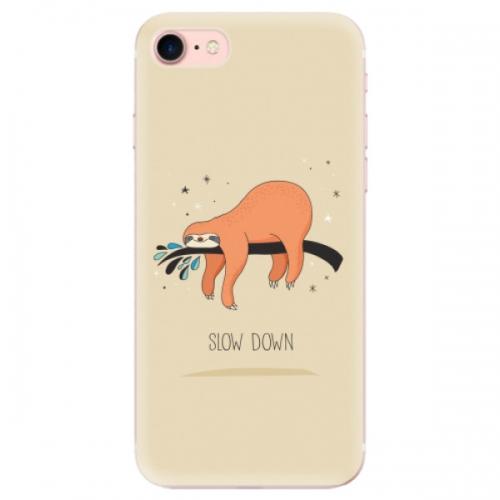 Odolné silikonové pouzdro iSaprio - Slow Down - iPhone 7