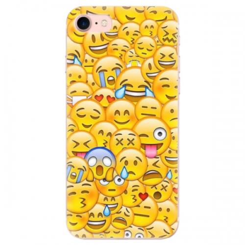 Odolné silikonové pouzdro iSaprio - Emoji - iPhone 7