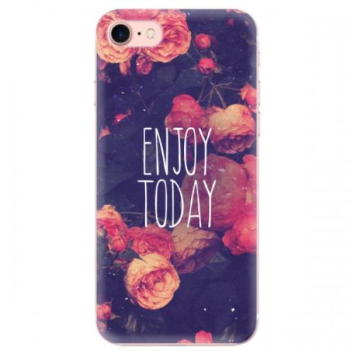 Odolné silikonové pouzdro iSaprio - Enjoy Today - iPhone 7