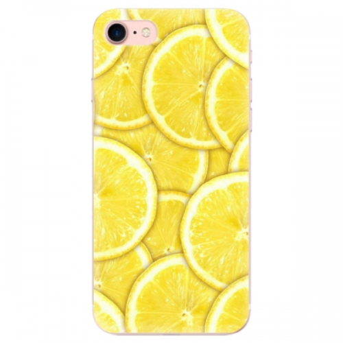 Odolné silikonové pouzdro iSaprio - Yellow - iPhone 7