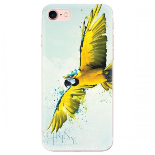 Odolné silikonové pouzdro iSaprio - Born to Fly - iPhone 7
