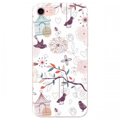 Odolné silikonové pouzdro iSaprio - Birds - iPhone 7