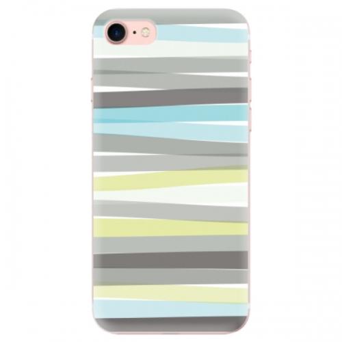 Odolné silikonové pouzdro iSaprio - Stripes - iPhone 7