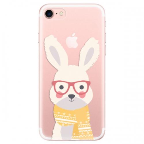 Odolné silikonové pouzdro iSaprio - Smart Rabbit - iPhone 7