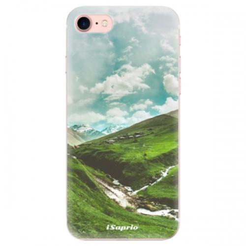 Odolné silikonové pouzdro iSaprio - Green Valley - iPhone 7