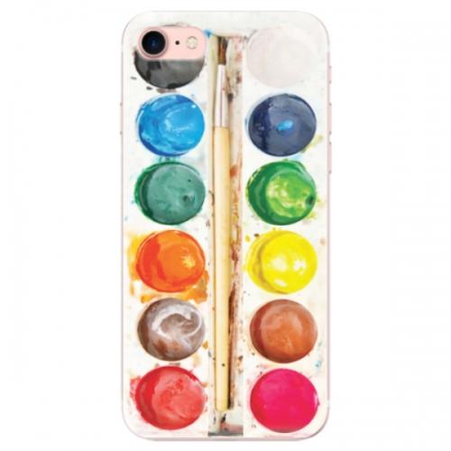 Odolné silikonové pouzdro iSaprio - Watercolors - iPhone 7