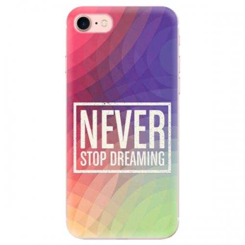 Odolné silikonové pouzdro iSaprio - Dreaming - iPhone 7