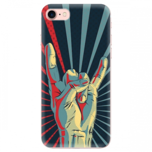 Odolné silikonové pouzdro iSaprio - Rock - iPhone 7