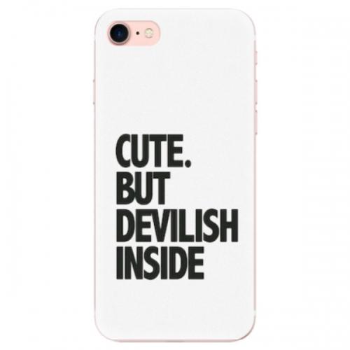 Odolné silikonové pouzdro iSaprio - Devilish inside - iPhone 7