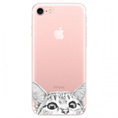 Odolné silikonové pouzdro iSaprio - Cat 02 - iPhone 7