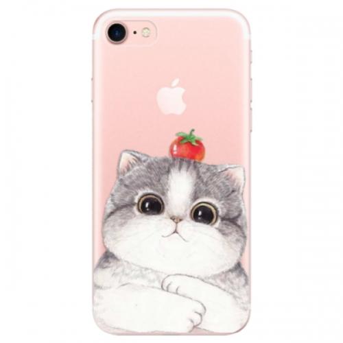 Odolné silikonové pouzdro iSaprio - Cat 03 - iPhone 7