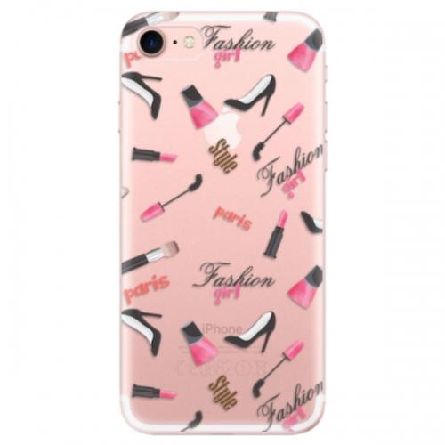 Odolné silikonové pouzdro iSaprio - Fashion pattern 01 - iPhone 7