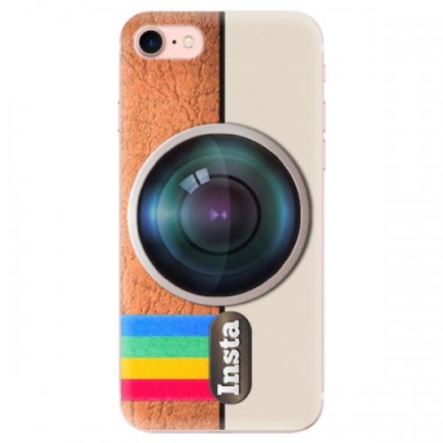 Odolné silikonové pouzdro iSaprio - Insta - iPhone 7
