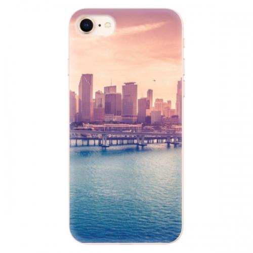 Odolné silikonové pouzdro iSaprio - Morning in a City - iPhone 8