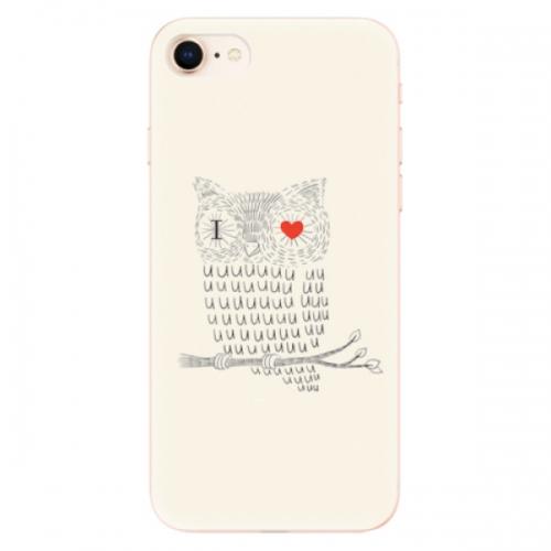 Odolné silikonové pouzdro iSaprio - I Love You 01 - iPhone 8