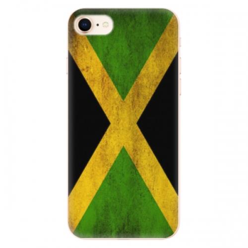 Odolné silikonové pouzdro iSaprio - Flag of Jamaica - iPhone 8