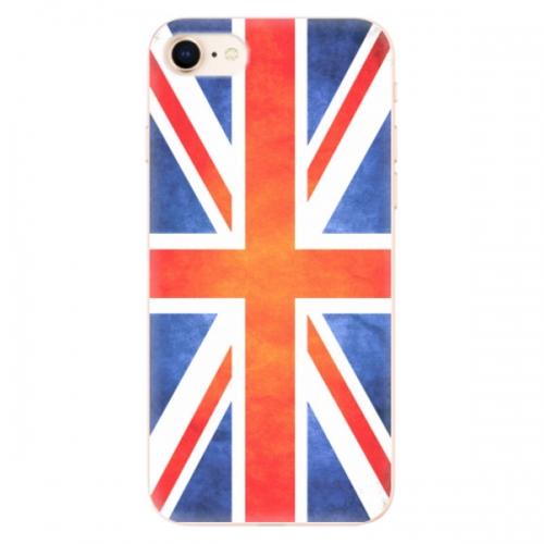 Odolné silikonové pouzdro iSaprio - UK Flag - iPhone 8