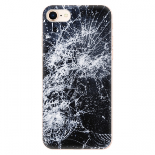 Odolné silikonové pouzdro iSaprio - Cracked - iPhone 8