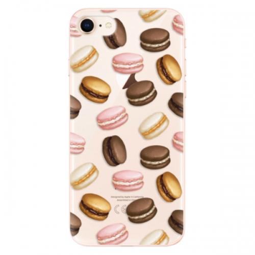 Odolné silikonové pouzdro iSaprio - Macaron Pattern - iPhone 8