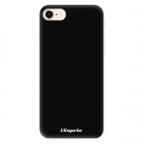 Odolné silikonové pouzdro iSaprio - 4Pure - černý - iPhone 8