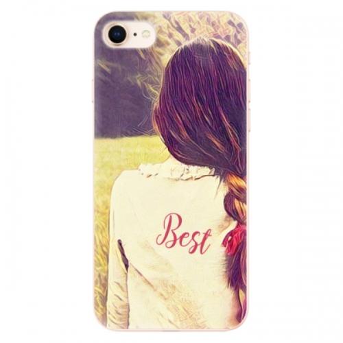 Odolné silikonové pouzdro iSaprio - BF Best - iPhone 8