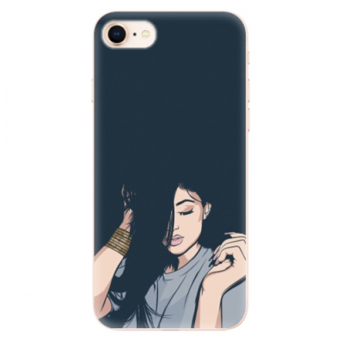 Odolné silikonové pouzdro iSaprio - Swag Girl - iPhone 8