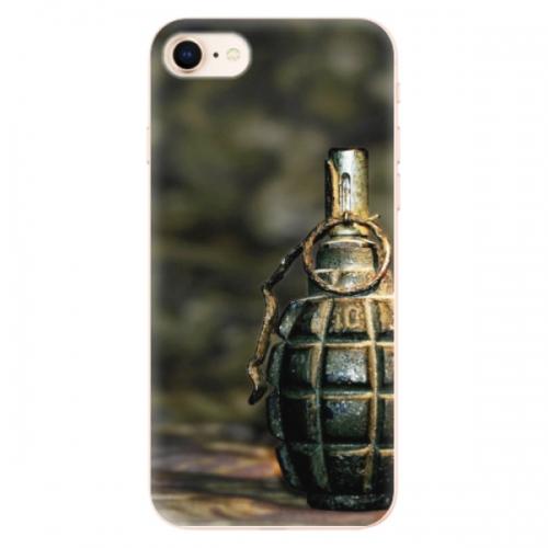 Odolné silikonové pouzdro iSaprio - Grenade - iPhone 8