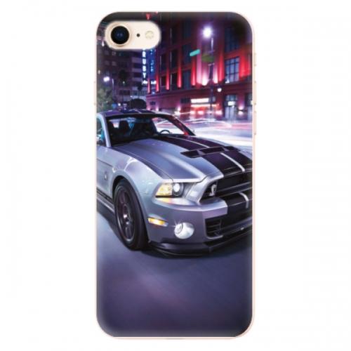 Odolné silikonové pouzdro iSaprio - Mustang - iPhone 8
