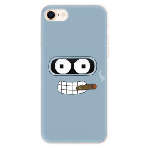 Odolné silikonové pouzdro iSaprio - Bender - iPhone 8