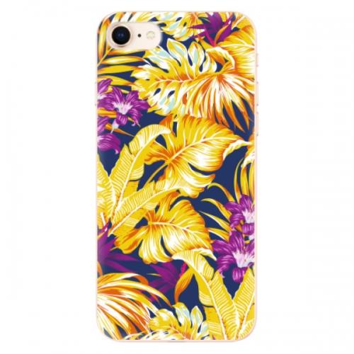 Odolné silikonové pouzdro iSaprio - Tropical Orange 04 - iPhone 8
