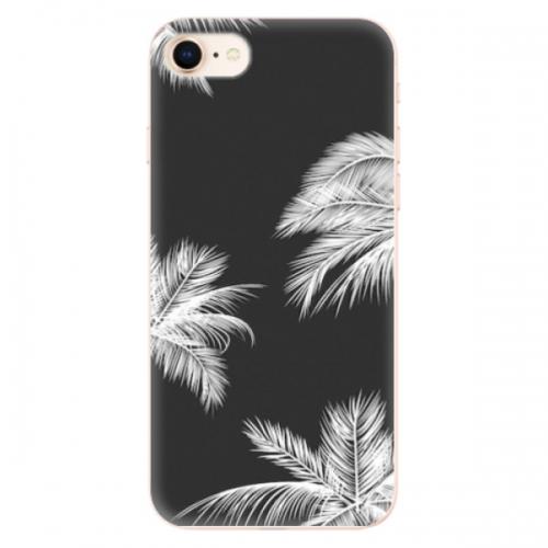 Odolné silikonové pouzdro iSaprio - White Palm - iPhone 8