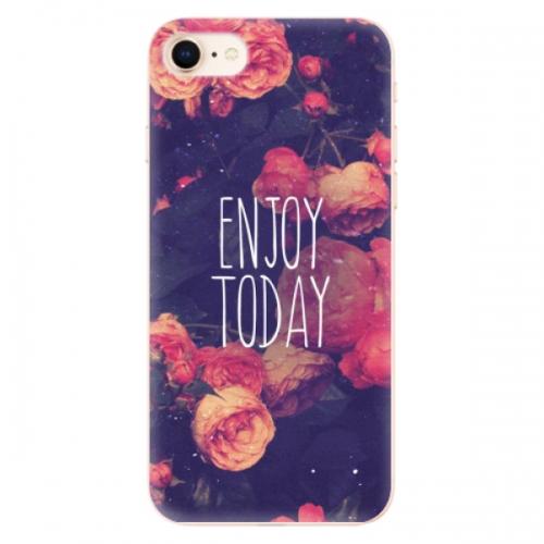 Odolné silikonové pouzdro iSaprio - Enjoy Today - iPhone 8