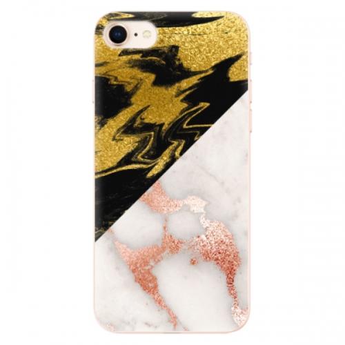 Odolné silikonové pouzdro iSaprio - Shining Marble - iPhone 8