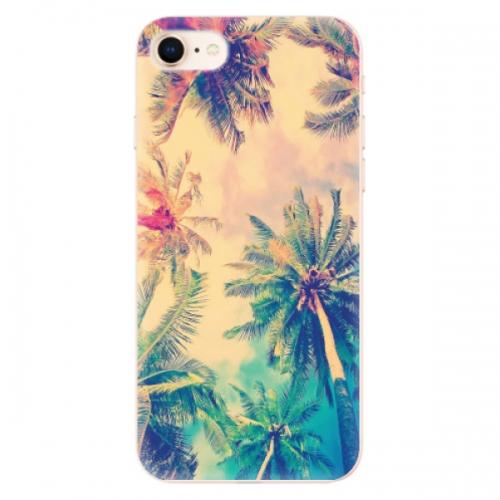 Odolné silikonové pouzdro iSaprio - Palm Beach - iPhone 8