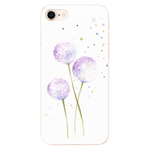 Odolné silikonové pouzdro iSaprio - Dandelion - iPhone 8