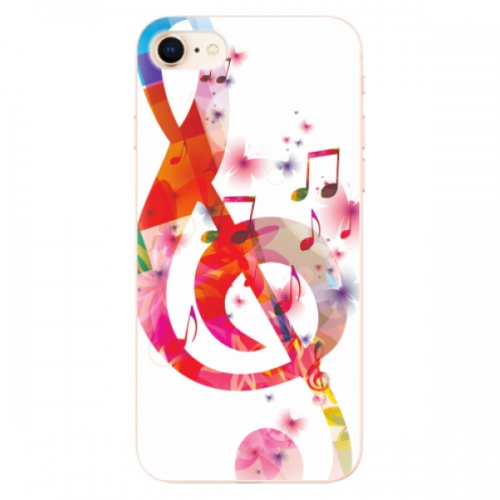 Odolné silikonové pouzdro iSaprio - Love Music - iPhone 8
